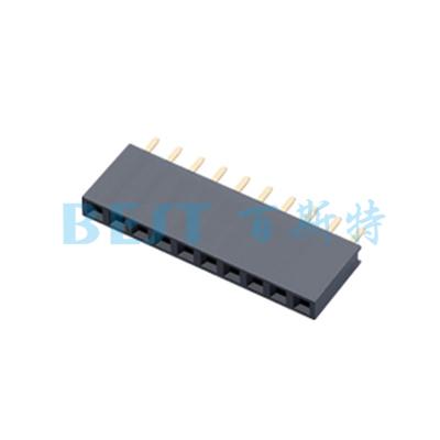 排针排母PF2.54x8.51xNP180度