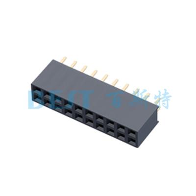 排针排母PF2.54x8.52xNP180度